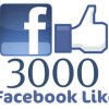 Facebook fans reach 3,000 … and growing