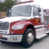 New fire truck lettered, joins Rockingham fleet