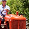 Bynum's 1948 Allis-Chalmers tractor getting noticed