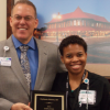 Hudson named Employee of the Year