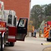 Firefighters respond to mill fire