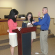 Jacobs sworn in as Hamlet police officer