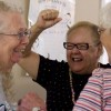 Laughing yoga 'a wonderful morale booster'