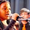 Rockets band, choir stage Spring Showcase