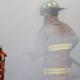 Firefighters battle CorTek blaze