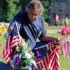 Brigman, army of volunteers plant U.S. flags