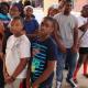 Leak Street kids visit PDP