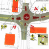 Officials scrap mini-roundabout concept