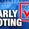 Two early voting spots open today