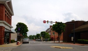 Kevin Spradlin | PeeDeePost.com Members of the Rockingham Downtown Corporation are looking for ways to attract more people to the area.