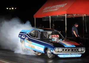 Photo courtesy Rockingham Dragway Two of the biggest names in professional drag racing make a nostalgic return to Rockingham Dragway for this week's IHRA Nitro Jam Spring Nationals.