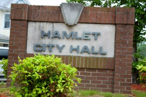 Kevin Spradlin | PeeDeePost.com The proposed Fiscal Year 2015 budget includes more than $820,000 from the city of Hamlet's fund balance.