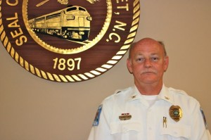 Kevin Spradlin | PeeDeePost.com Hamlet Police Chief Amery Griffin, 50, announced that he will retire from the force at the end of the month.