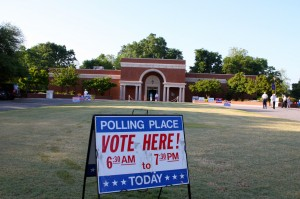 Kevin Spradlin | PeeDeePost.com The polls are open until 7:30 p.m. at 16 locations across Richmond County.