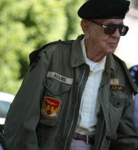 Kevin Spradlin | PeeDeePost.com . John Adams, World War II veteran