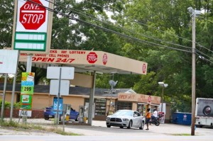 Kevin Spradlin   PeeDeePost.com The store clerk at One Stop convenience store on Airport Road in East Rockingham reported he was robbed at gunpoint early Saturday morning.