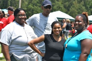 Kevin Spradlin | PeeDeePost.com The summer picnic for Richmond County Schools employees on Thursday was a time to strengthen and develop friendships, said board member Jerry Ethridge.