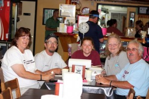 Kevin Spradlin | PeeDeePost.com Members of Wheels 4 Paws supported the Richmond County Animal Advocates Spay-ghetti dinner Saturday in Hamlet.