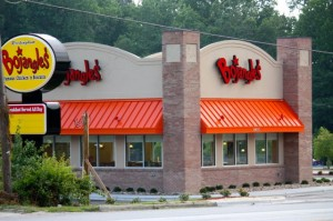 Stephanie Spradlin | PeeDeePost.com The new Bojangles' location will feature a larger dining room, updated landscape and aesthetics and a larger kitchen.