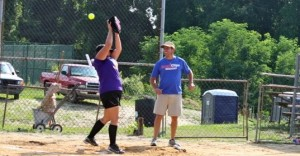 Kevin Spradlin | PeeDeePost.com The Hot Mamas let the game against the E-Lemon-Ators get away Monday night in Ellerbe.