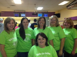 Submitted photo Members of the Richmond Service League help coordinate the Strike Out Autism bowling event each year in Rockingham.