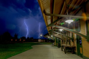 Photo by Jimmy McDonald | jmacphoto.com The third of three of Jimmy McDonald's top photos from a June 19 lightning show over Hamlet.