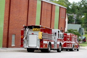 Kevin Spradlin | PeeDeePost.com Four children were stuck in an elevator at Discovery Place KIDS for about 20 minutes Tuesday afternoon.