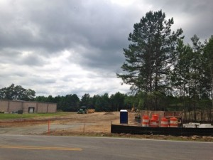 Kevin Spradlin | PeeDeePost.com Connelly Construction NC has started work on clearing land for the planned Fountain Pointe Apartment Complex at 192 Clemmer Road in Rockingham.