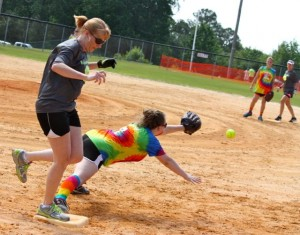 Kevin Spradlin | PeeDeePost.com Seems like Opening Day was just yesterday, but it was really last month. The Hot Mamas Softball League playoff schedule begins Monday in Ellerbe.