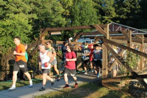 Photo by Kim Adamof This year's Hinson Lake 24-Hour Ultra Classic start line will be a little more crowded as the field has increased to 384 runners, up from 240.