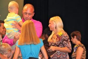 Kevin Spradlin | PeeDeePost.com Jennifer O'Neal was recognized Thursday as the Richmond County Schools Teacher of the Year.