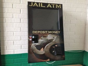 Kevin Spradlin | PeeDeePost.com Friends or family members of those confined at the jail will be able to deposit money into the machine and the same amount, minus a $3.50 transaction fee, will be applied to the inmate's jail account.