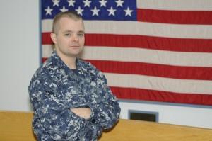 Petty Officer 1st Class Quincy Fry is an engineman mate aboard the Zumwalt.