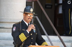 Kevin Spradlin | PeeDeePost.com Richmond County Sheriff James Clemmons Jr.