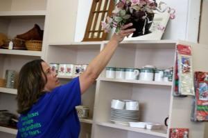 Kevin Spradlin | PeeDeePost.com Kimberly Kinney, director of the Habitat ReStore locations in both Moore and Richmond counties,