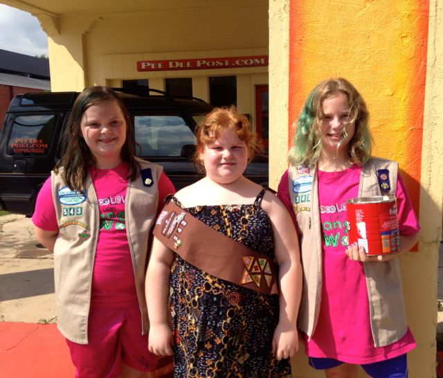 Girl scout of the pee dee