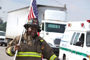 Kevin Spradlin | PeeDeePost.com Josh Watkins, 23, is a three-year veteran volunteer with Northside Volunteer Fire Department.