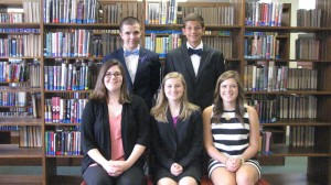 Submitted photo Trey McInnis, Katie Satterfield, Sarah Maske, Molly Russell and John Pittman were the winners of the Richmond Senior High School interviews and were selected to go on to the next round to compete for the Morehead-Cain Scholarship.