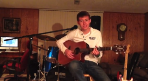 Weston Wilson, of 17, has a number of performances recorded on YouTube.