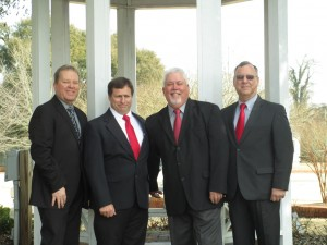 Members of the Cameronian Quartet include Mike Snead, Dan Allen, Kenneth Lynch and Tommy Criscoe.