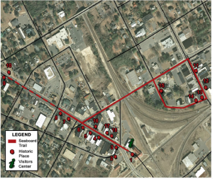 Click the image for the full map of the Seaboard Trail.