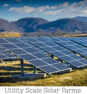 An FLS Energy photo An example of the North Carolina company's utility scale solar wind farm.