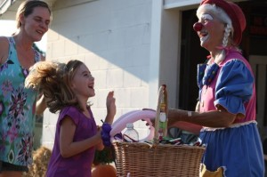 Kevin Spradlin | PeeDeePost.com Zoie Smith, of Hamlet, was perhaps the most excited 6-year-old at the fair on Wednesday.