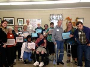 Kevin Spradlin | PeeDeePost.com Ellerbe Senior Center volunteers