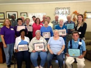 Kevin Spradlin | PeeDeePost.com East Rockingham Senior Center volunteers