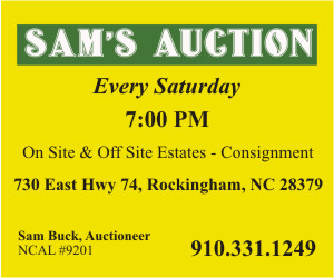 Sams Auction