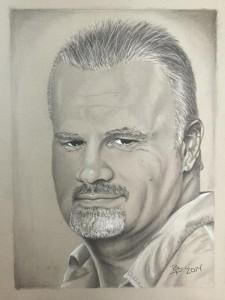 John Searcy portrait by Brandon Parrish