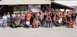 Submitted photo A group photo taken before the start of the pheasant hunt.