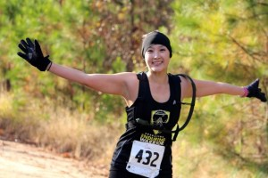 Kevin Spradlin | PeeDeePost.com Stacy Jer runs for more than just herself. She brings awareness to military service members returning home from war who have been wounded.