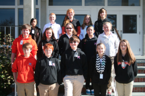 Submitted photo Seventh grade Front Row: Kevin Aiken, Blake Cherry, Lee Hayden, Jadyn Johnson and Madison Jordan. Second Row: Noah Jordan, Carley Lambeth, Harley Linton, Gissel Munoz and Hailey Miller. Third Row:  Kim Phan, Joshua Rodgers, Aerial Spooner, Mackenzie Spradlin and          Analee Wyand. Not Pictured:  Geena Driggers, Kayla Howell and Payton Smith